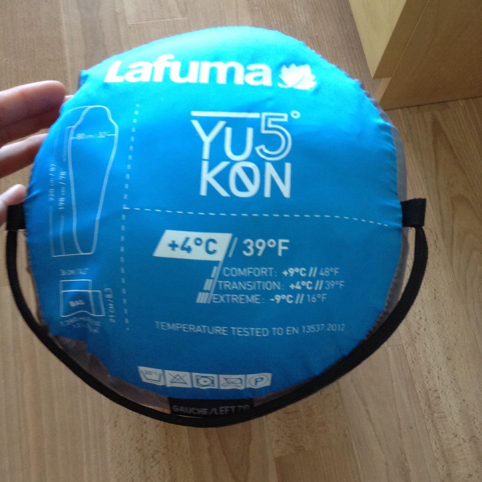Lafuma Yukon 5/° XL Sac de Couchage Mixte