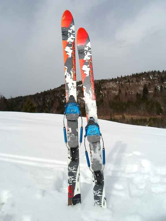 Skis Rossignol BC 110 + Fixation 75mm