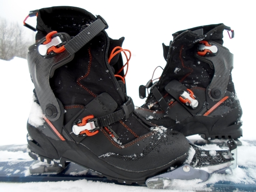 Test des chaussures BCX 12 Rossignol, norme 75 mm
