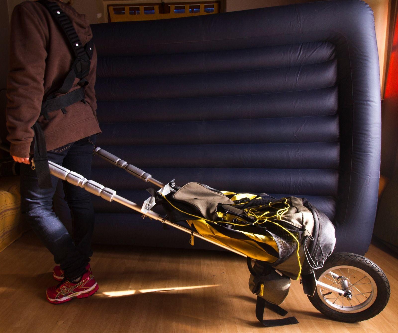 chariot de randonn e type carrix ultra l ger. Black Bedroom Furniture Sets. Home Design Ideas